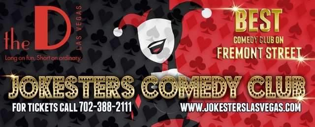 Jokesters Comedy Club features the best comedians nighlty in Las Vegas