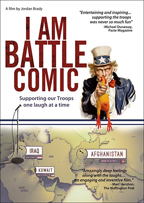Inspirational and Motivational Keynote Speaker and Comedian Don Barnhart stars in I Am Battle Comic Entertaining The Troops